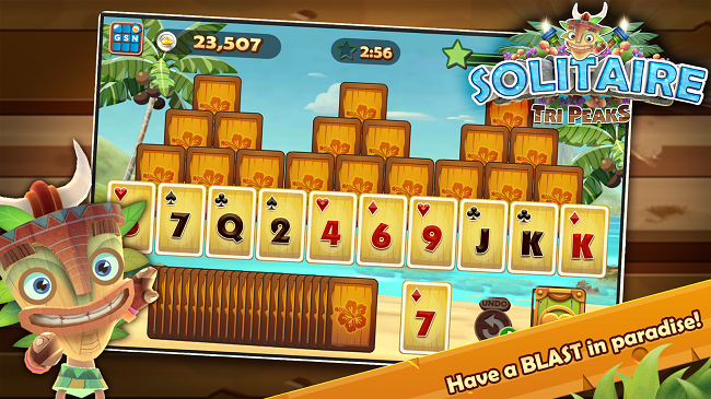 Solitaire TriPeaks - Best Card Game for Android SmartPhone