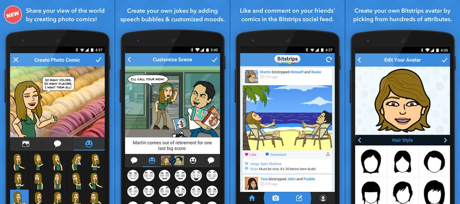 BITSTRIPS-BEST COMIC MAKER APPS FOR ANDROID