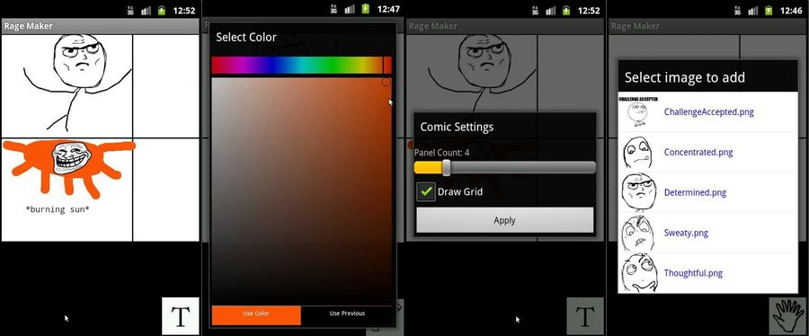 Rage Comic Maker-BEST COMIC MAKER APPS FOR ANDROID