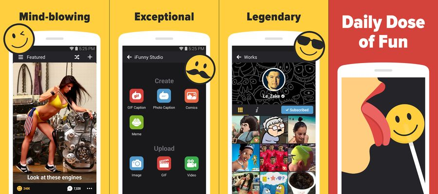 iFunny-BEST COMIC MAKER APPS FOR ANDROID