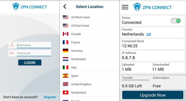 Best Free VPN for Android Phones and Tablets - 10GB Free VPN Proxy - ZPN