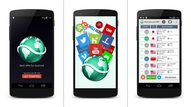 Best Free VPN for Android Phones and Tablets - Fast Secure VPN