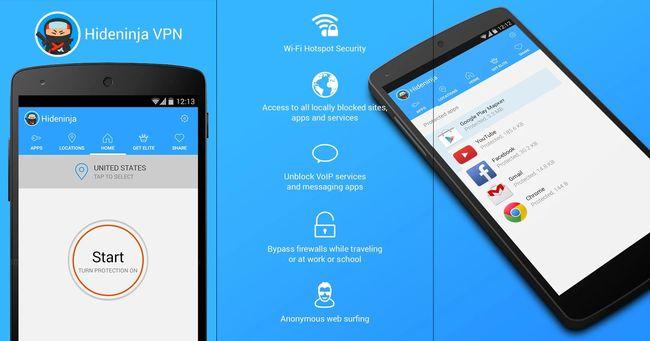 Best Free VPN for Android Phones and Tablets - Hide Ninja VPN