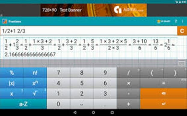 FRACTION CALCULATOR BY MATHLAB