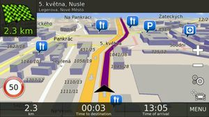 Navigation BE-ON-ROAD